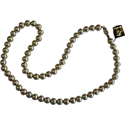 Vintage Danecraft Cream Colored Faux Pearl Necklace
