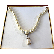 Vintage Treasurers of the Dutchess Faux Pearl Necklace, Kenneth Jay Lane