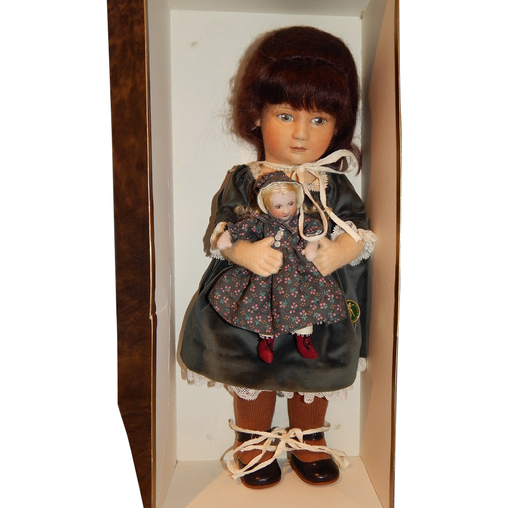 "R. John Wright ""Rachel Sunday Best"" Felt Doll"
