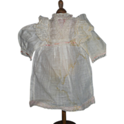 "Original ""Factory"" Incised Jumeau Dress"