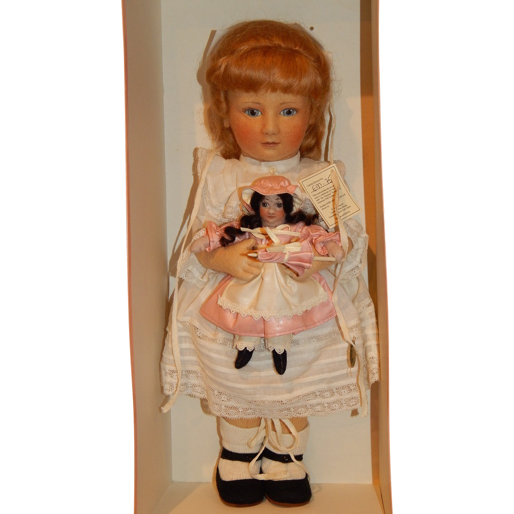 "Authentic R. John Wright ""Emily and the Enchanted Doll"" MIB"