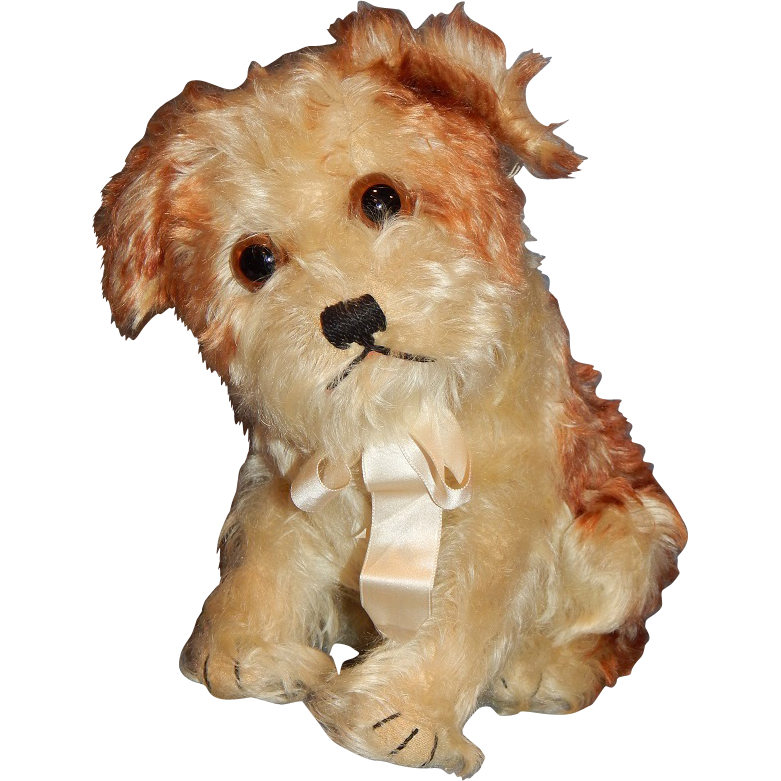 "10"" Vintage Steiff Molly Dog"