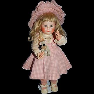 """13"""" French SFBJ #252 Pouty Toddler"""