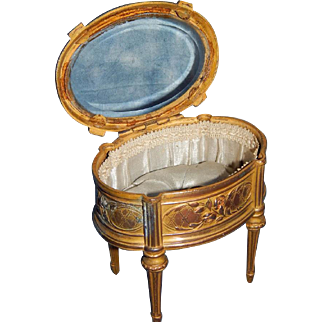 Darling Small Antique French Vitrine