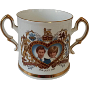 Prince Charles and Lady Diana Commemorative Bone China Mug