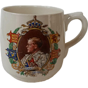 Royal Doulton Commemorative Mug Edward VIII Coronation 1937