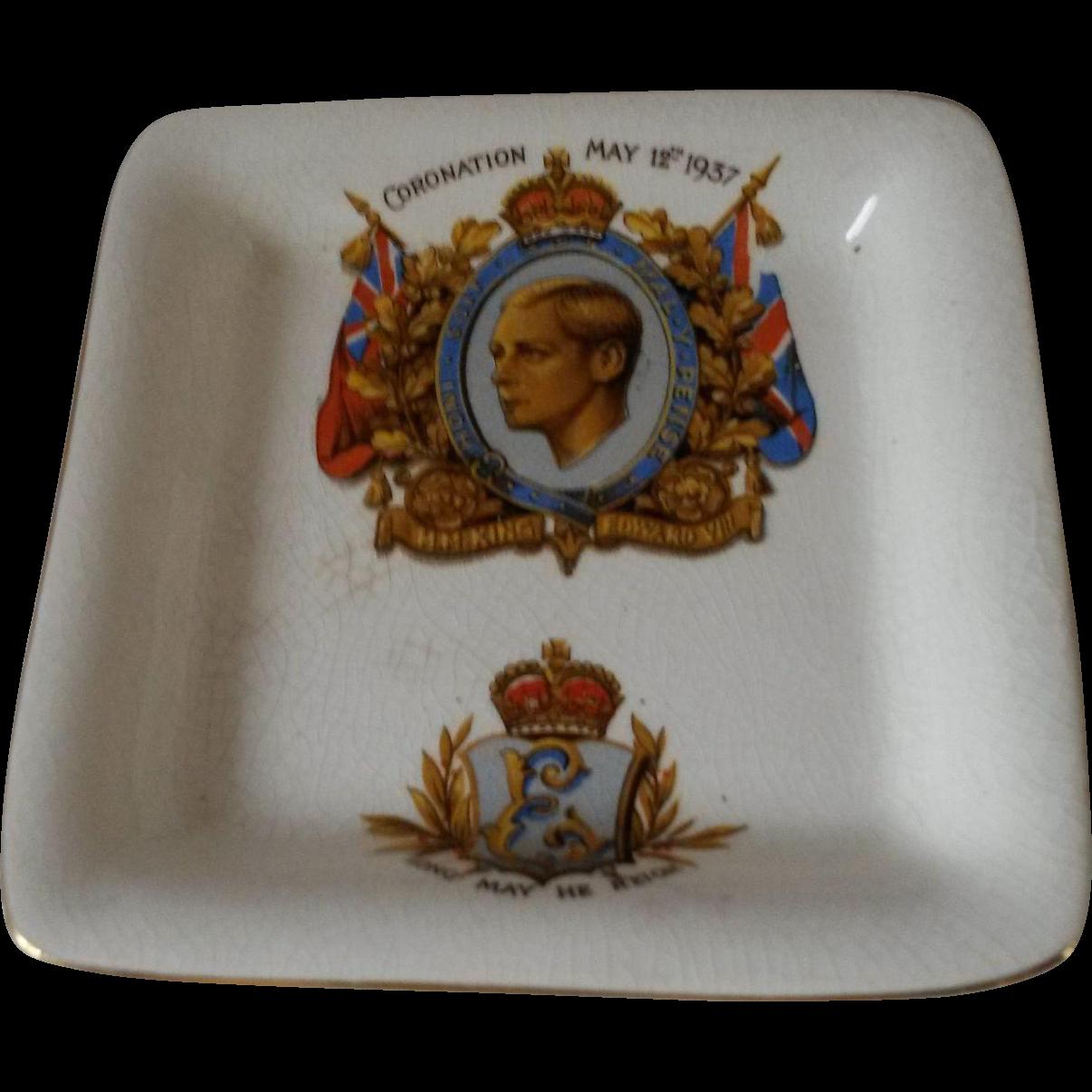 Duke of Windsor Commemorative Plate