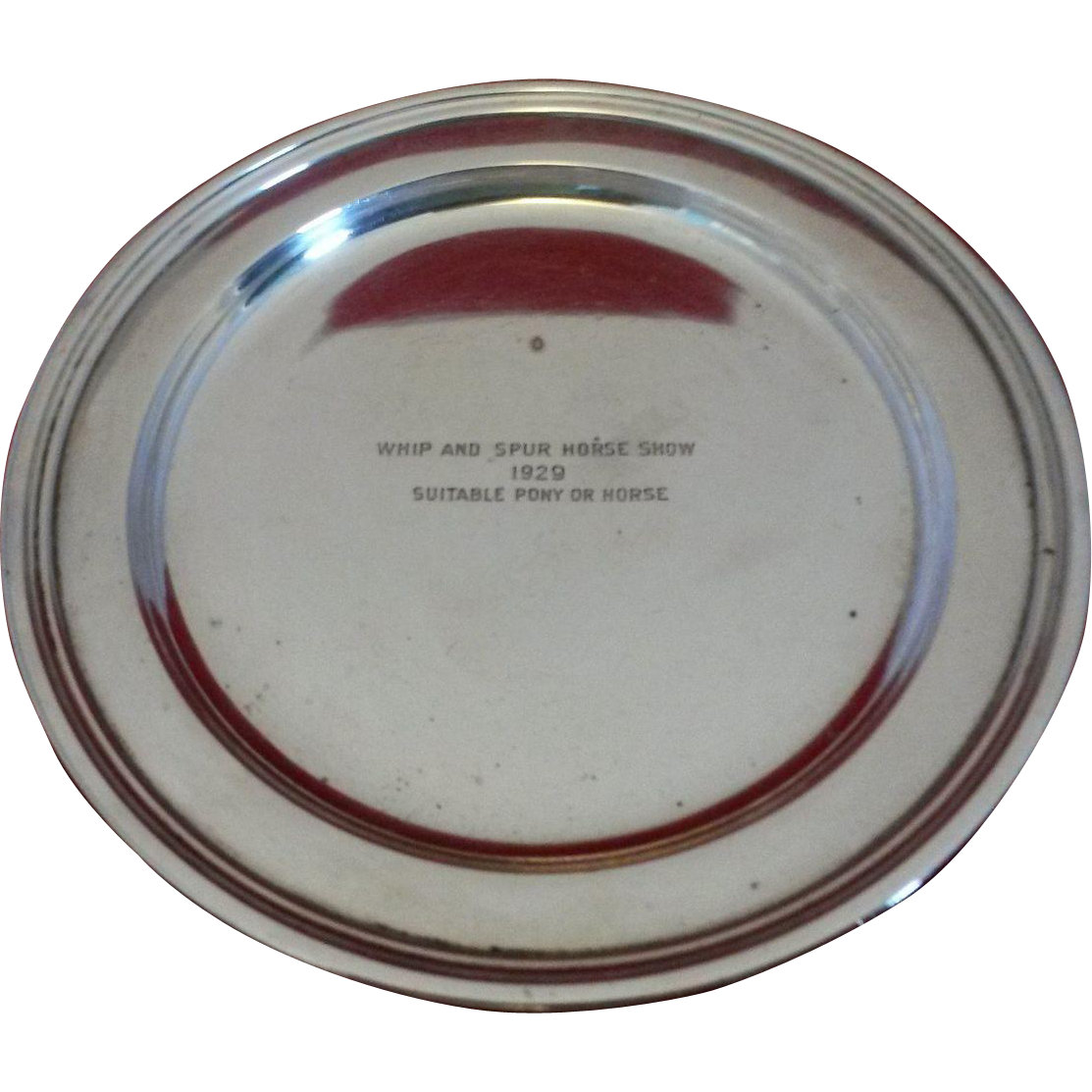 Tiffany & Co Sterling Silver Tray 1929