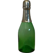 Antique Champagne Green Glass Ponce/Pounce 1883