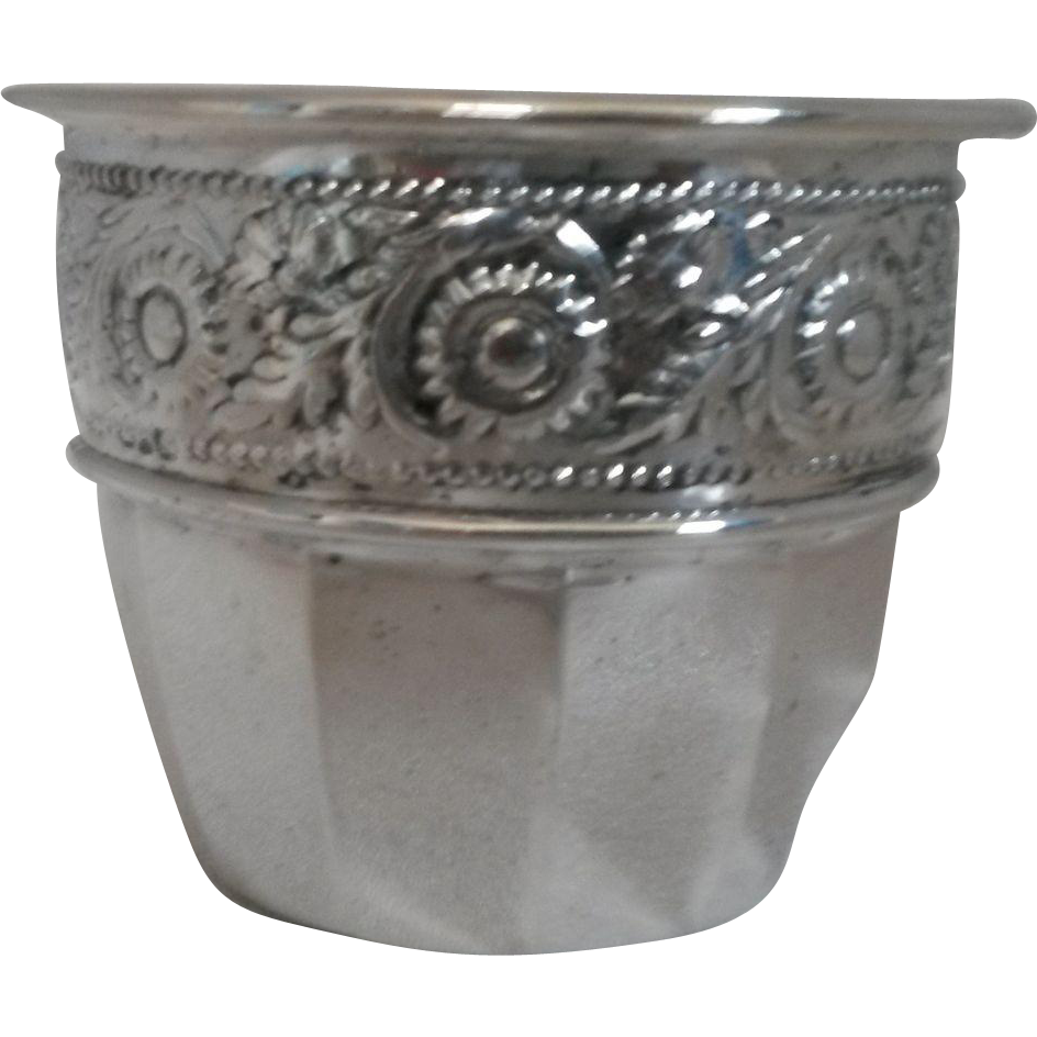 Silver Plated Vase/Bowl Made in England