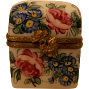Limoges Box with Double Perfume Bottles