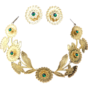 MOSELL Vintage Necklace and Earrings