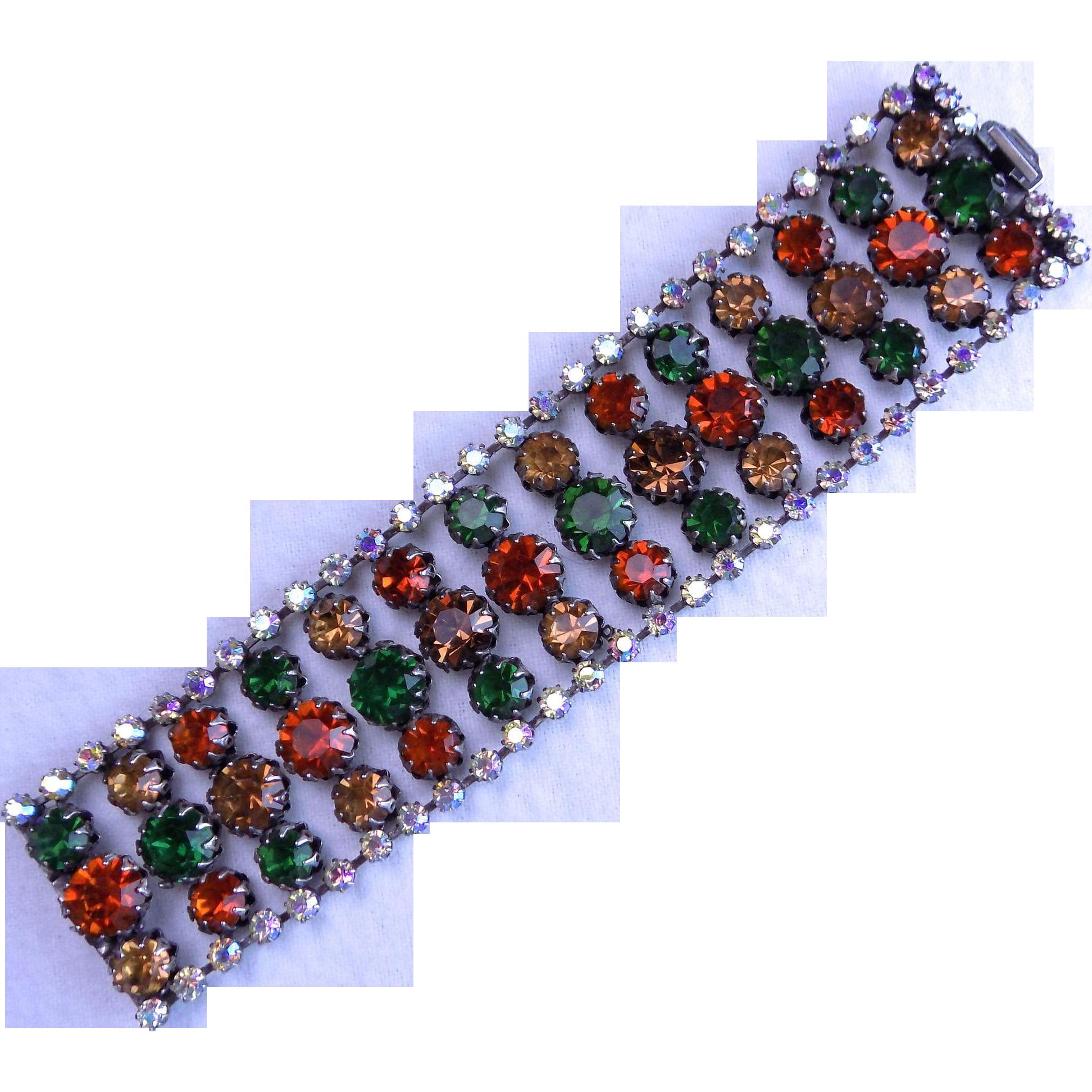 Wide VENDOME Vintage Bracelet