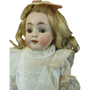 Large size 8 All Bisque doll marked 208 by Kestner