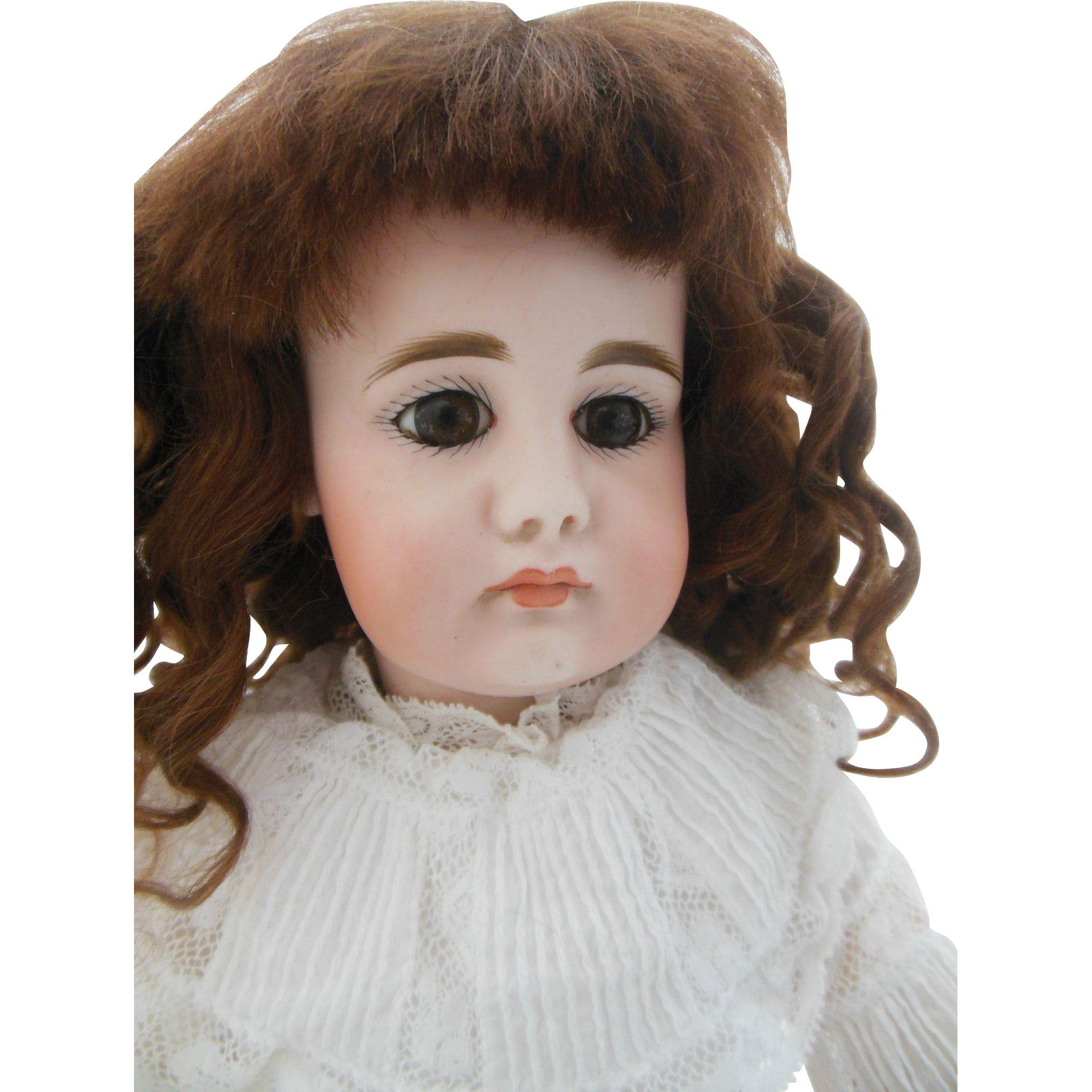 "Beautiful Closed Mouth SH 949 Simon Halbig doll 18"""