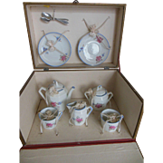 Original French Boxed Tea set