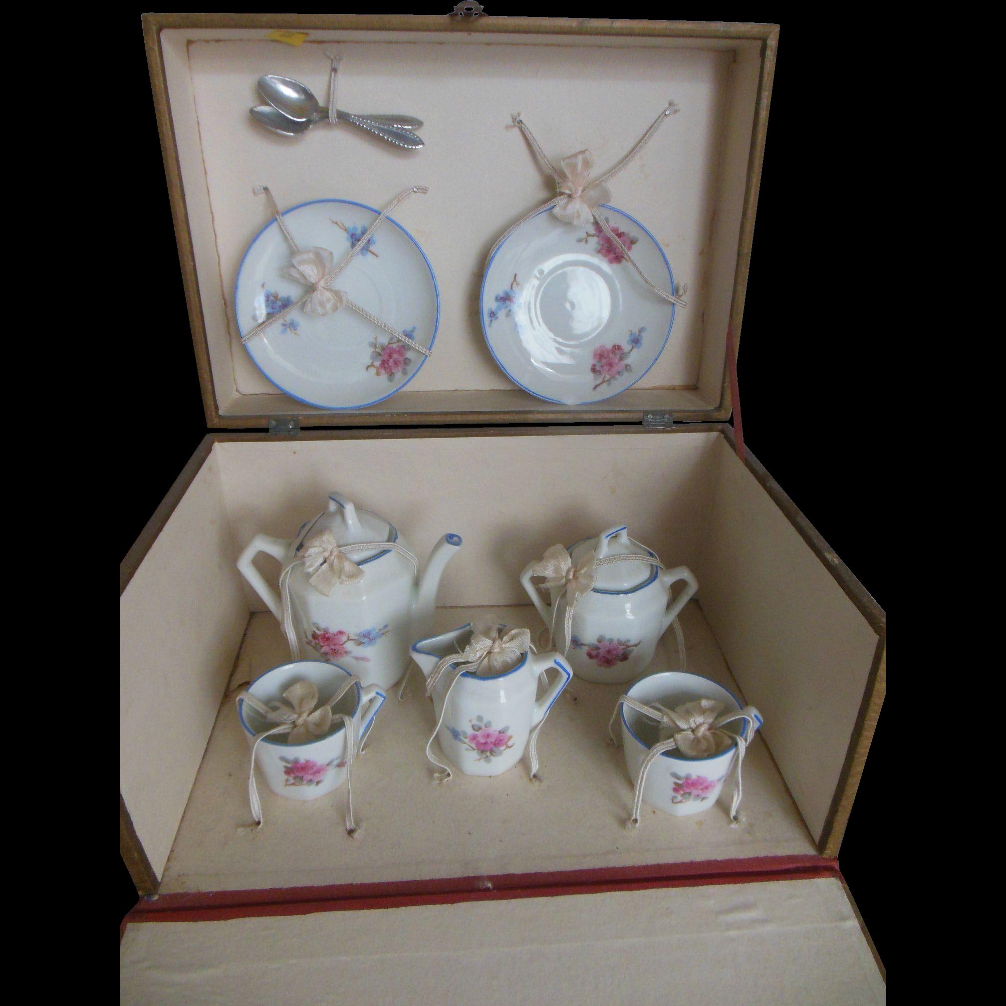 Original French Boxed Tea set