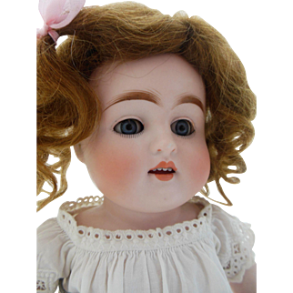 "All bisque Kestner 150 doll 11"" tall in pristine condition"