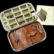 Complete Aluminium Fly-fishing Compendium, c1940