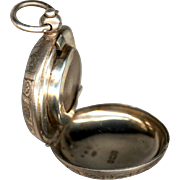 Sterling Silver Sovereign Case in Watch-Form, English, 1901