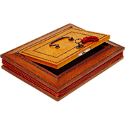 Rare Palais Royal Document Writing box, French 1st Empire c1800