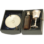 Boxed Portable Holy Communion Set, c1899