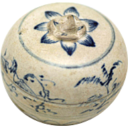 Vietnamese Ceramic Box, Hoi An Shipwreck, 15th century