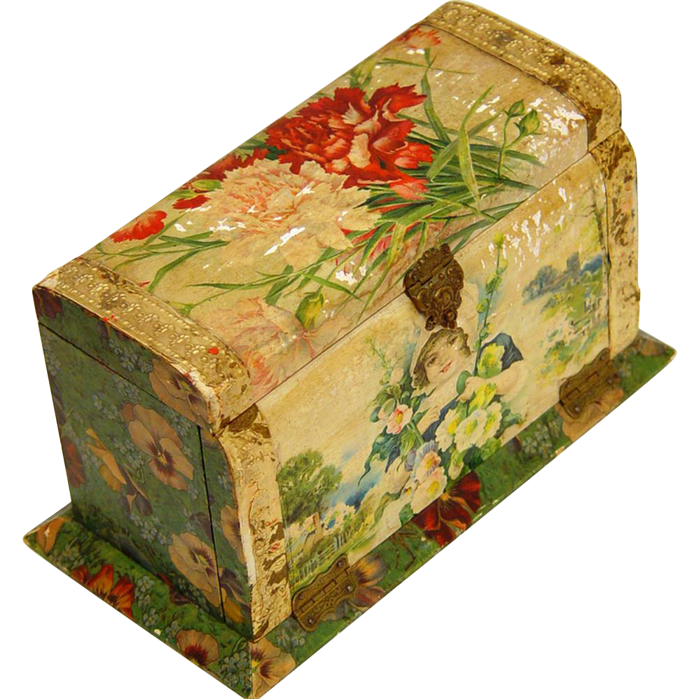 Complete Fitted Celluloid Toiletry Box, early 20th century