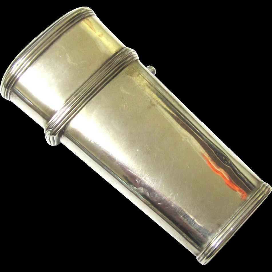 Georgian Silver Étui with Multi-Purpose Frame, c1800