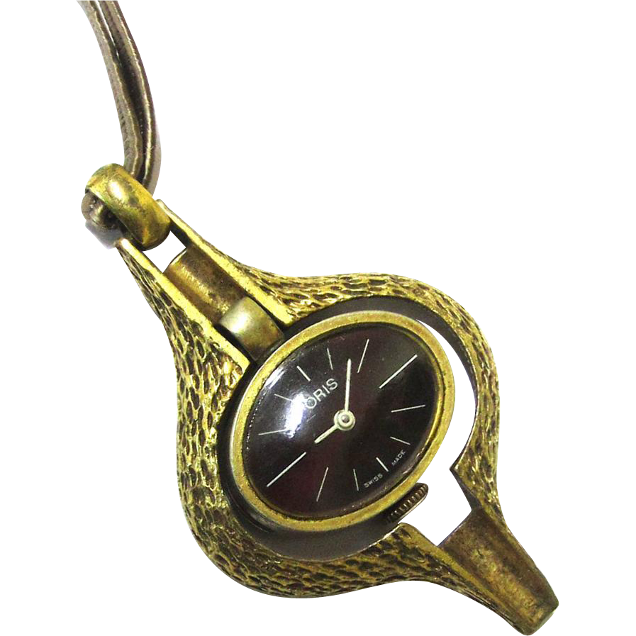 Pendant Mechanical Oris Watch, Swiss, in the form of a Watch Key