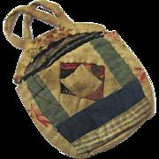 Naïve Patchwork Watch Pocket to Wear, Victorian