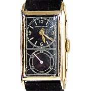 Doctor's Duo-Dial Wristwatch, Hamilton Watch Company, c1937