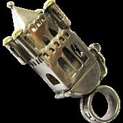 Rare Ceremonial Jewish Betrothal Ring, c1809