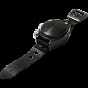 Intriguing Aitron Wristwatch-form Transistor Radio, Vintage