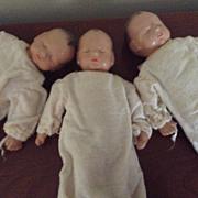 Triplet Set Composition Sleeping Babyettes