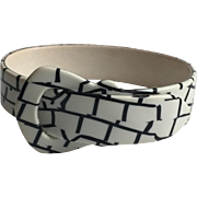 ca 1970s Celluloid Buckle Bracelet