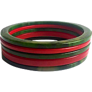 Bakelite Bangle Bracelets Spacers