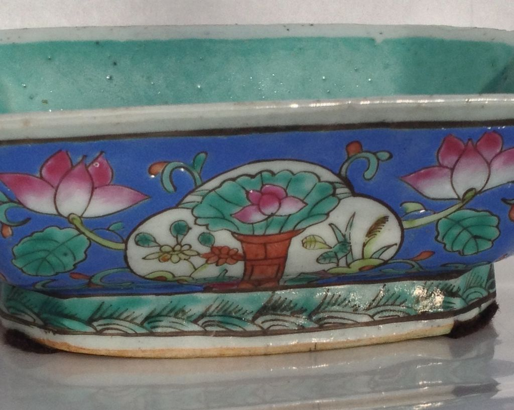 Chinese Export Enameled Porcelain Dish