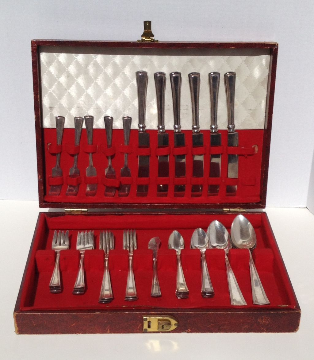 46 pc Set of Flatware George Washington by Alvin 1920's