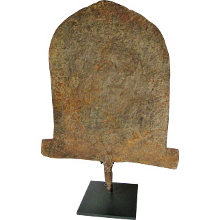 Huge African Tribal Ethnic Art Iron Sculptural Object Vintage