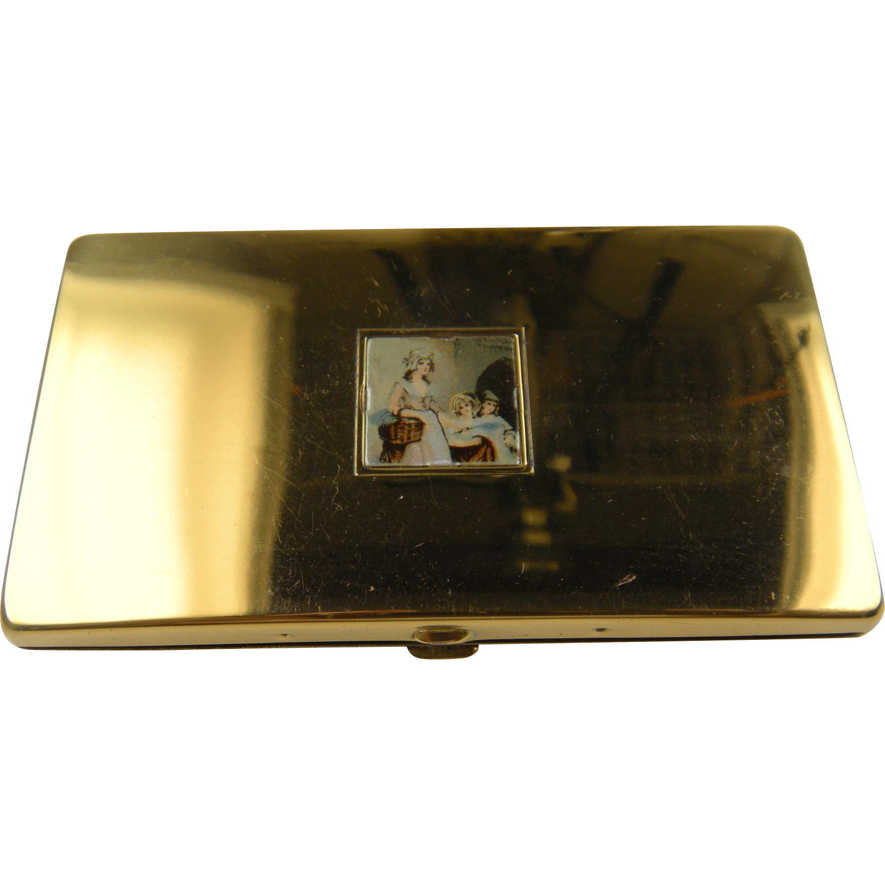 Signed YARDLEY of London Compact with Original Box