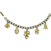 Heraldic Charm Bracelet