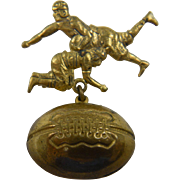 Vintage Football Players Pin
