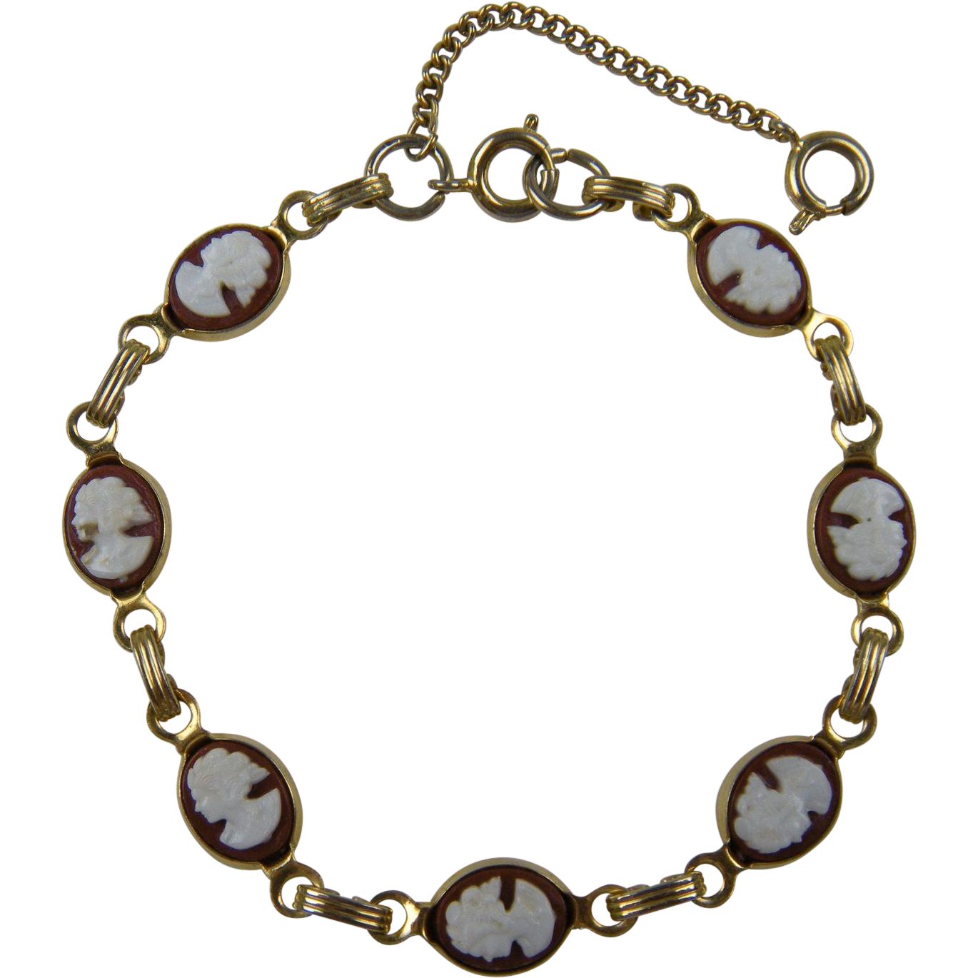 sweet cameo bracelet from jackiesgems on ruby