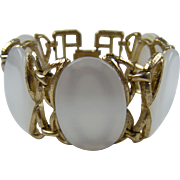 1950's Thermoplastic Bracelet with Imitation Mother-of-Pearl