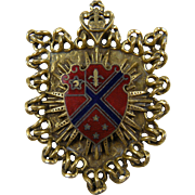 Reinad Heraldic Brooch Book Piece