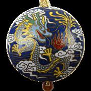 Colorful Cloisonne Pendant