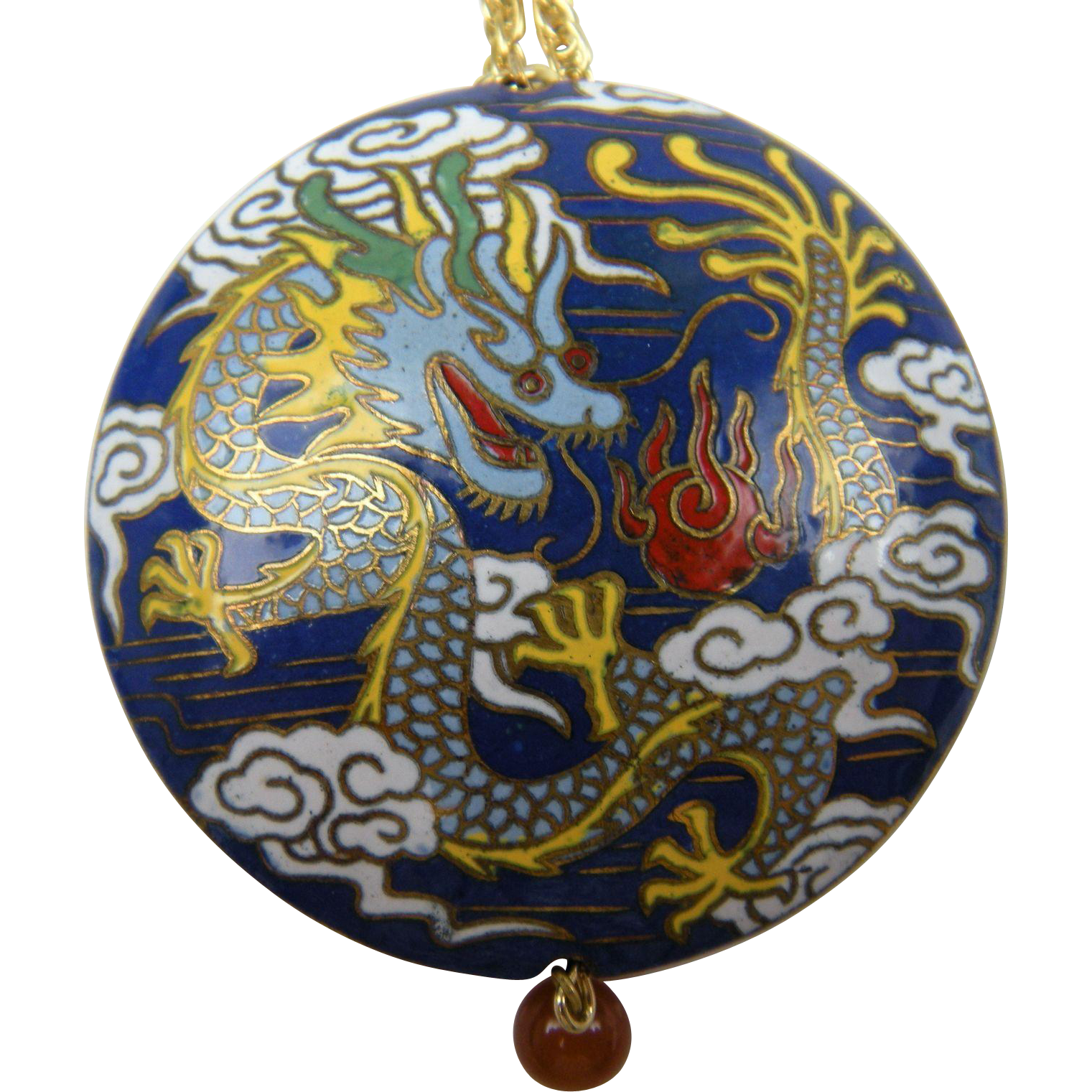 Colorful Cloisonne Pendant