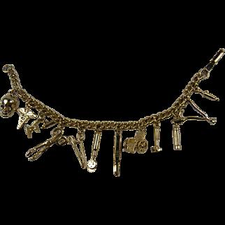 Loaded Medical Themed-Charm Bracelet