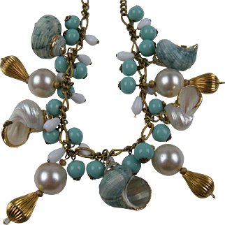 Fabulous Sea Shell Necklace with Real Shells